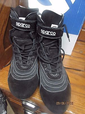 SPARCO 00125247NR SFI 20 Competition Boots, Used for 3 Races, GUC,