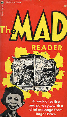 THE MAD READER p/b book in Very Good condition 23rd print 1974. ALFRED E NEWMAN.
