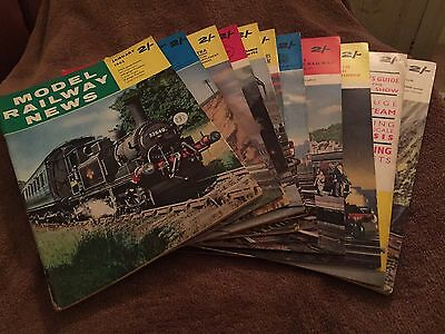 Model Railway News 11 Issues 1962. Excellent Condition
