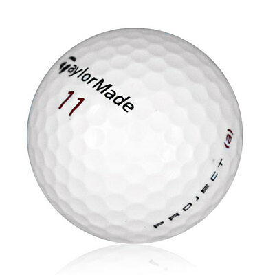 48 TaylorMade Project (a) Near Mint Recycled Used Golf Balls