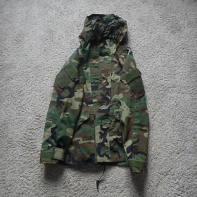 ECWCS Used Gore-Tex US woodland camo parka Woodland special forces camo