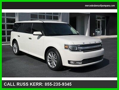 2014 Ford Flex Limited Navigation Camera Clean Carfax 2014 Flex Limited We Finance and assist with Shipping