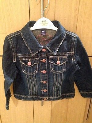 Gap Girls Denim Trendy Jacket Age 3 Years Excellent Condition
