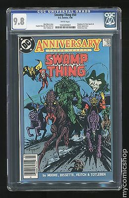 Swamp Thing (1982 2nd Series) #50 CGC 9.8 (1265280001)