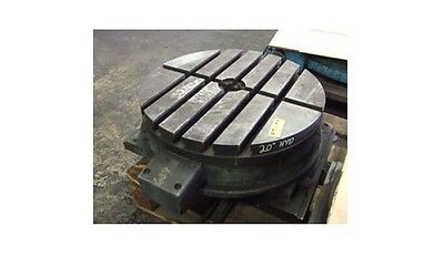 """20"""" Hydraulic Rotary Table Workholding Fixture"""