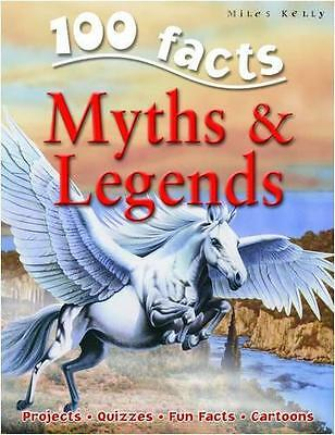 100 Facts on Myths and Legends, Fiona MacDonald | Paperback Book | 9781848101333