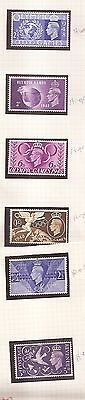 GB King George VI 1948 Olympic Games 1946 Peace Mint hinged SG 491/2 495/8 w8463