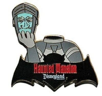 Haunted Mansion Disney Pin DisneyLand The Headless Knight Armor Glow in Dark Bat