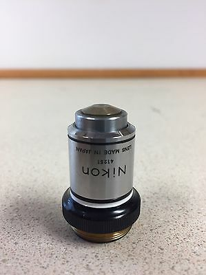 Nikon Plan 100x Oil Immersion Microscope Objective