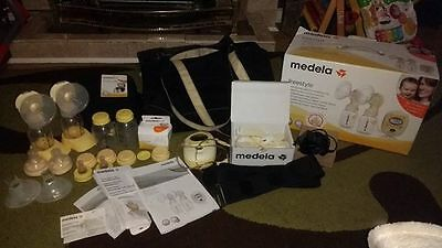 Medela Freestyle Double Electric Breastpump With Calma