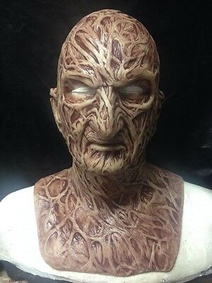 """Freddy Silicone Mask """"Dream Master"""" Part 4 krueger WFX  Pre-halloween Special!"""