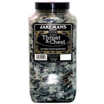 Jakemans Throat & Chest 2.75 Kilo Jar Retro Sweets
