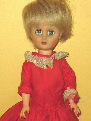 1950's or 60's Doll 17 inch  MS REVLON STYLE V18