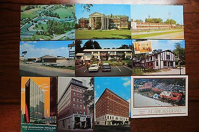 10 Different Hotel/Motel Post Cards (lot 3)