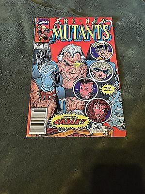 New Mutants 87 FIRST APPEARANCE OF CABLE DEADPOOL MOVIE