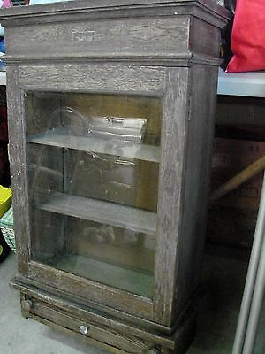Rare Early Doctors Cabinet  Frank S Betz Co. Apothecary Medical Dental