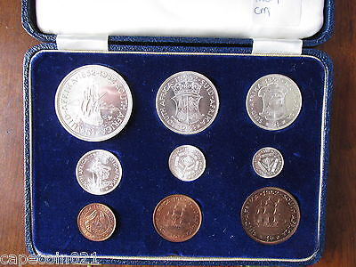 =Excellent= British South Africa Proof Set - 1952 - 300Th Anniversary