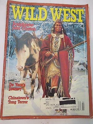 Wild West MAGAZINE,4 ISSUES, FEB,APRIL,,AUGUST, OCTOBER,1991