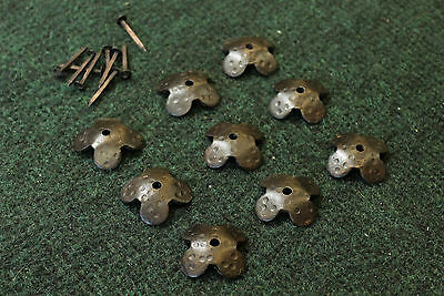 Lot of 25 Bronze Alloy 1920's Arts & Crafts  Door or Gate Clavos (Nails)