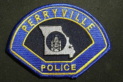 Perryville, Missouri police shoulder patch - new