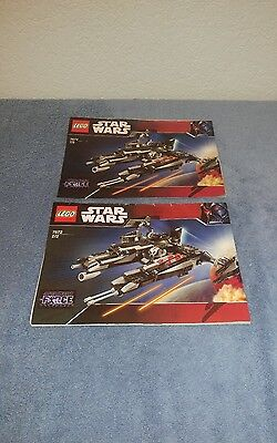Lego Star Wars 7672 Rogue Shadow Instruction Manuals Only