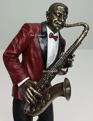 JAZZ BAND COLLECTION - SAXOPHONE PLAYER Home Decor Statue Sculpture Figurine