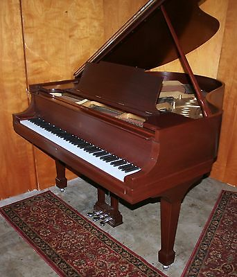 STEINWAY & SONS MODEL M GRAND PIANO 1919 Beautiful Finish! Artist Bench!