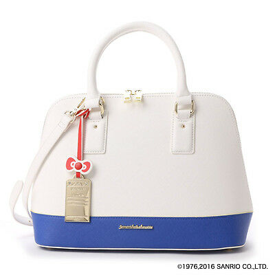 Hello Kitty Boston Bag Blue ❤ Samantha Thavasa & Chouette Japan Sanrio