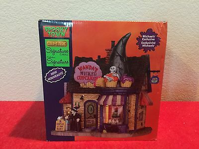 Lemax SPOOKY TOWN WANDA'S WICKED CUPCAKES - Brand New In Box