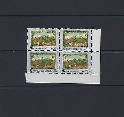 Christmas 1982 - block of 4 stamps MNH