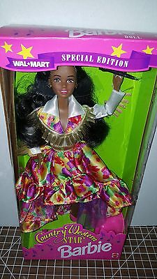 Walmart Edition Country Western Star African American AA Barbie Doll Mattel