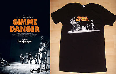 "GIMME DANGER  ***Original Movie Poster Double-Sided 27""x40""/ Jim Jarmusch (RARE)"