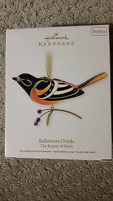 2011 Hallmark Keepsake Ornament - Baltimore Oriole -7th in The Beauty of Birds