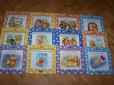 12 FRENCH hardcovers - Mes Premiers Livres Winnie L'Ourson