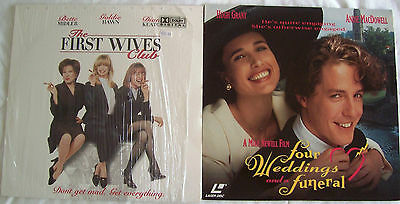 LASERDISC SALE 2 x Romance / Comedy Titles - Covers & Discs are Good to VGC