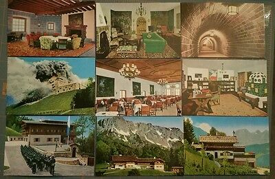 Eagles Nest and Ober Salzburg before 1945 (20 view set of cards) WWII Interest