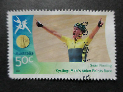 No--27-  --2006 COMMONWEALTH  GAMES  -USED  50c  VALUES  ---A1  ORDER