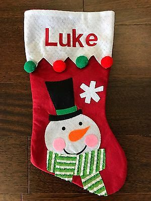 Personalized Stocking Custom Name Embroidered Christmas Stockings FREE SHIPPING!