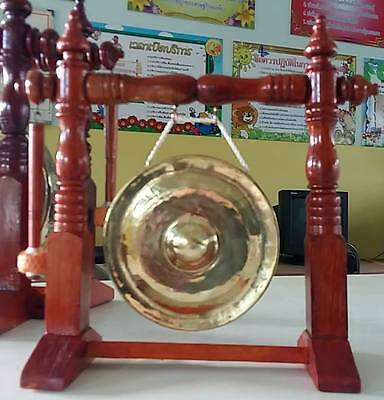 """5"""" Thai Gongs (3 pieces (Hand-made Handicrafts from Thailand))"""