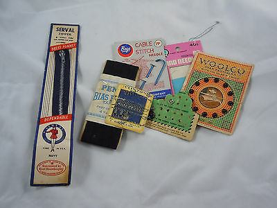 Assorted Vintage Sewing Items
