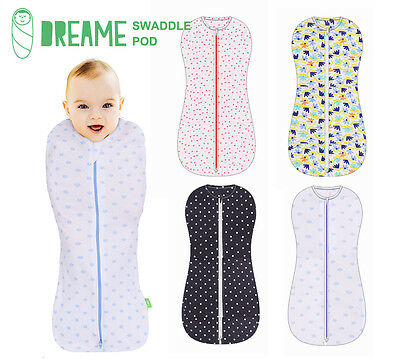DREAME Swaddle Pouch Newborn baby love to sleeping bag