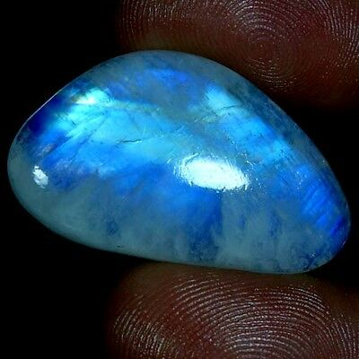 36.85Cts. GORGEOUS 100% NATURAL POWER RAINBOW MOONSTONE FANCY CABOCHON GEMSTONES