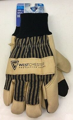 Westchester 97900/XL Work Glove Cold Weather Thermofill w Pigskin Leather XL