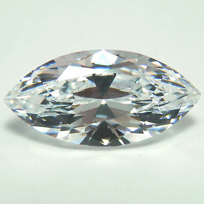 2Ct Marquise Cut D Color My Russian Diamond Simulated Lab Created Loose Gemstone