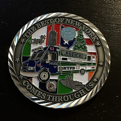B51 NYPD CHALLENGE COIN Manhattan South Operations