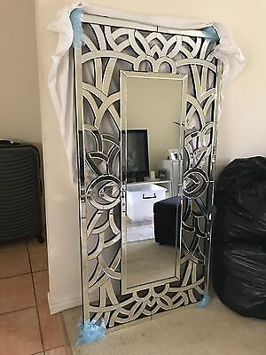 Extra Large Art Deco Wall Mirror 150 x 75