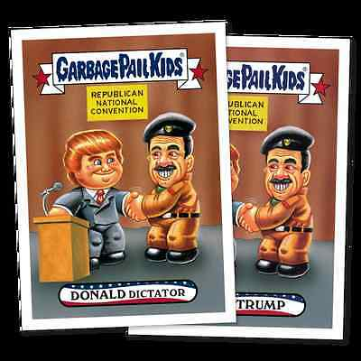 2016 Garbage Pail Kids Republican National Convention - 10 Card NEW Complete Set