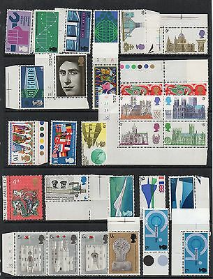 GB 1969c COMMEMORATIVEs Stamp COLLECTION Unmounted Mint REF:QD602