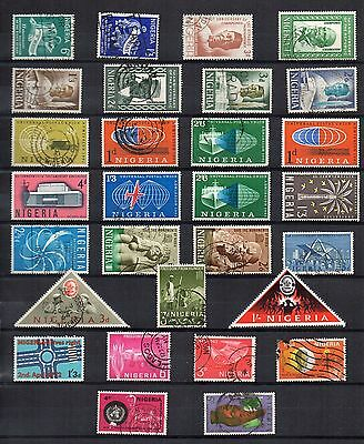NIGERIA Stamp Collection QEII MINT USED  Ref:QD596
