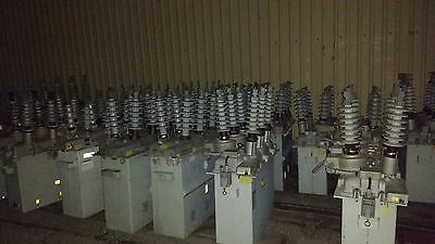 Lot of 5 L Recloser Single phase hydraulically controlled reclosers Hydraulic